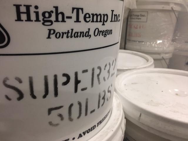 High Heat Mortar : Super high temperature mortar temp inc